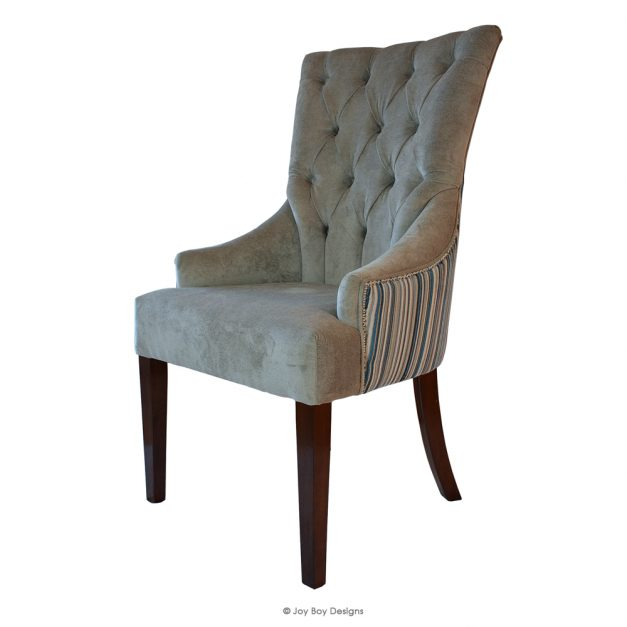 chevron dining chair side 2